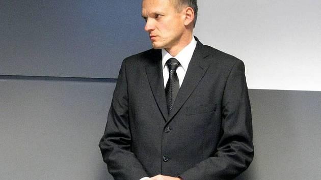 Radomír Maráček u krajského soudu v Olomouci