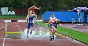 Smíšený běh juniorů a dorostu v přek. běhu na 2.000 m