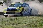 Petr Leher na Rally Vyškov