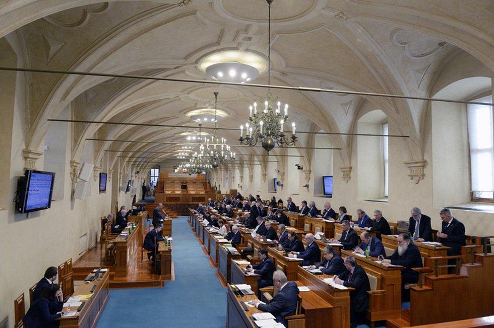 Schůze Senátu. Ilustrační foto