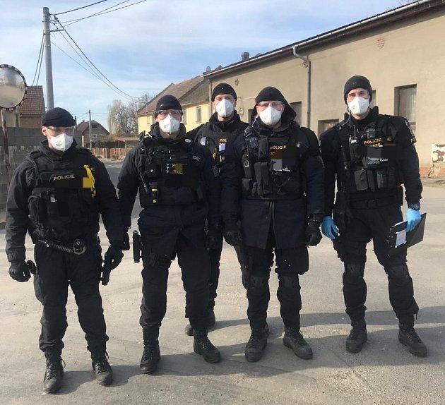 Šumperští policisté vakci.