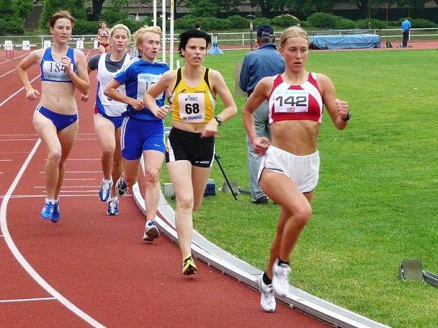 Olomoucká běžkyně Grygarová (č. 142)