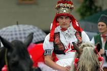 Jízda králů v obci Doloplazy na Olomoucku