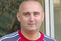 Trenér Pavel Tökely.