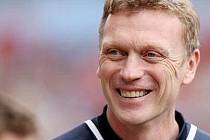 Trenér Evertonu David Moyes