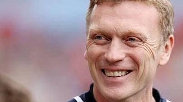Trenér Evertonu David Moyes