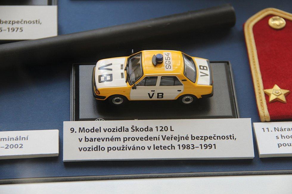 Ve Vlastivědném muzeu je k vidění výstava Policejní sbory v proměnách času.