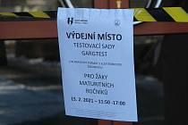 Do testování se zapojí studenti gymnázia Hejčín.