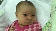 Eliška Urbanová, Bystrovany, narozena 15. června, míra 51 cm, váha 3480 g