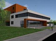 Vizualizace nového depozitáře Vědecké knihovny v Olomouci v Hejčíně