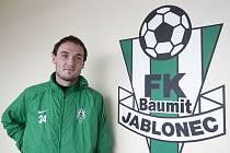 Ex-olomoucký útočník Martin Doležal v novém působišti v Jablonci