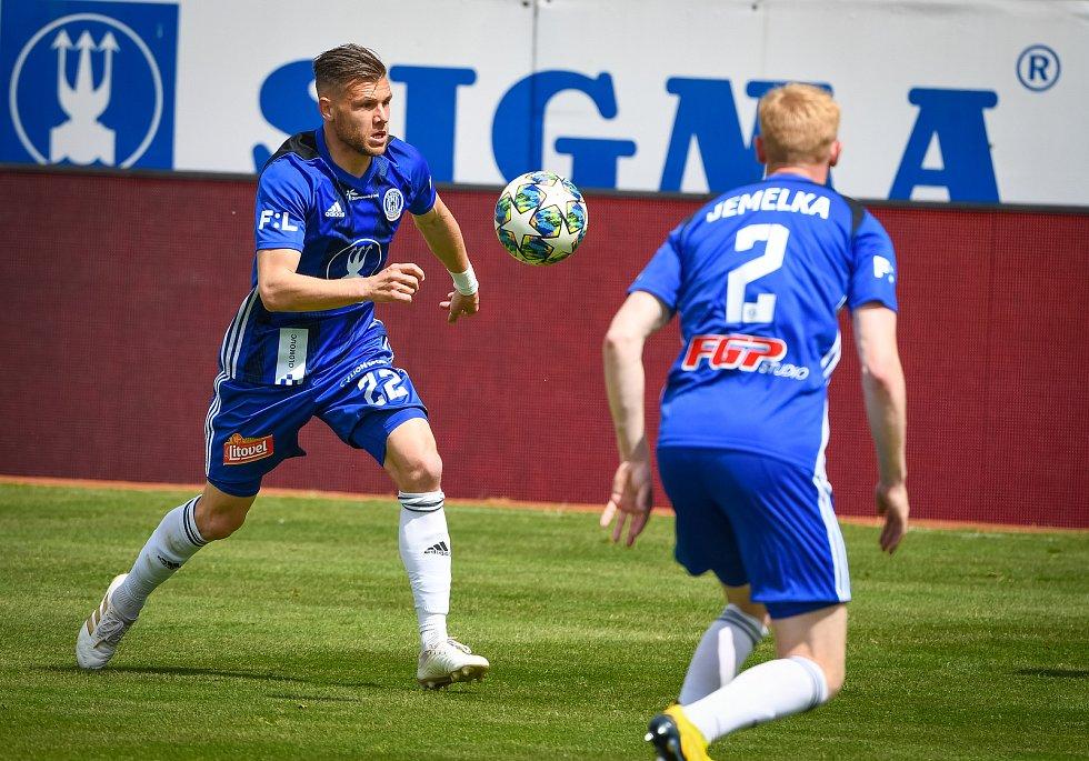Fotbalisté Olomouce prohráli doma s Příbramí 1:2. Radim Breite