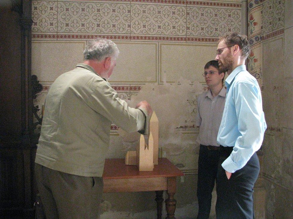 Haptická výstava v Katedrále sv. Václava