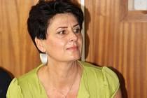 Bývalá radní Hana Kaštilová Tesařová u Okresního soudu v Olomouci