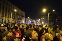 Lampionový pochod a ohňostroj na oslavu 28. října