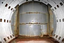 Zodolněný  úkryt číslo 3 pro odpalovací zařízení a raketový nosič.