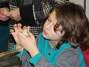 Litovelská dětská výstava domácích mazlíčků v Domě dětí a mládeže.
