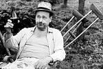 František Řehák jako pan Lorenc ve filmu na samotě u lesa
