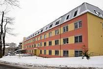 Zrekonstruovaná budova psychiatrické kliniky ve fakultní nemocnici