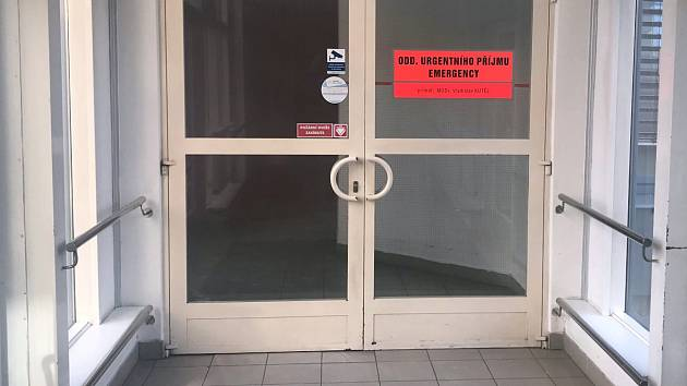 Urgentní příjem olomoucké fakultní nemocnice. Ilustrační foto