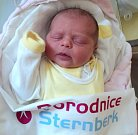 Adéla Řehulová, Libivá, narozena 17. dubna ve Šternberku, míra 50 cm, váha 3490 g