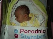 Magdalena Bedravová, Šumvald, narozena 13. ledna, míra 50 cm, váha 2600 g