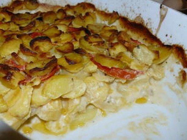 Řecké olivové brambory