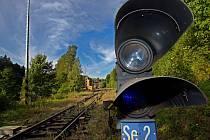 Opuštěné nádraží v Branné