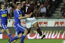 Sparťan Kweuke střílí Sigmě jediný gól zápasu