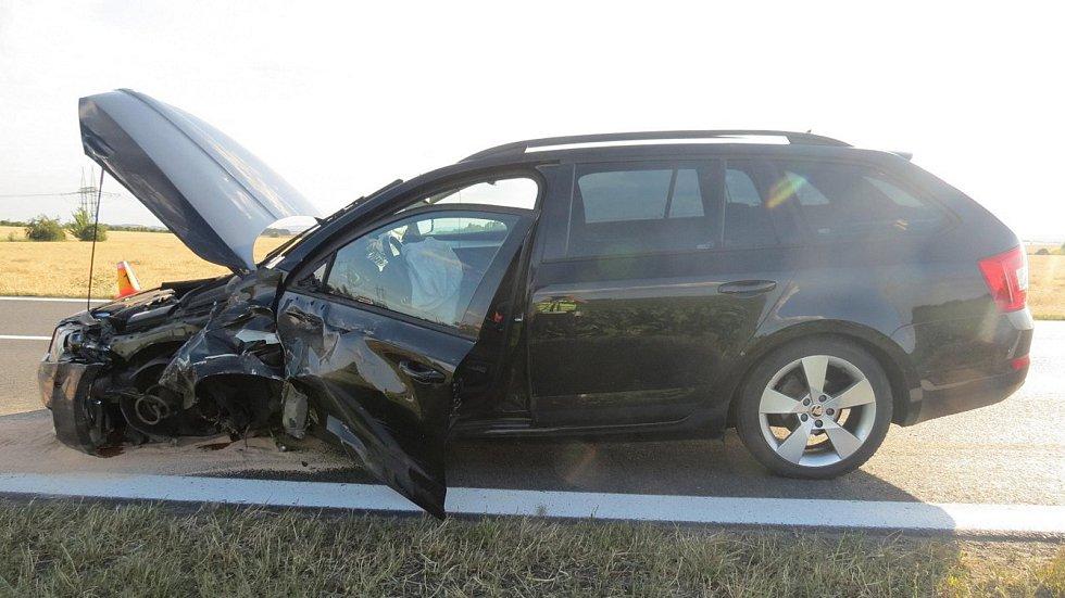 Tragická nehoda u Dubu nad Moravou - 11. 7. 2019