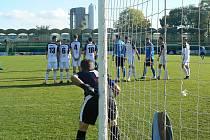 Fotbalisté 1. HFK Olomouc podlehli doma Tatranu Všechovice 0:2.