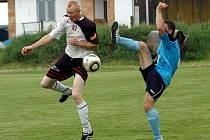 Fotbalisté Hněvotína. Ilustrační foto.
