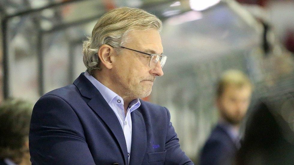 Trenér HC Olomouc Zdeněk Moták