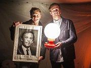 Franz Pätzold, nominovaný na Cenu Faust pro herce roku 2016 a Stanislav Majer, český Herec roku 2016