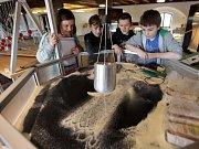 Děti v Pevnosti poznání v Olomouci