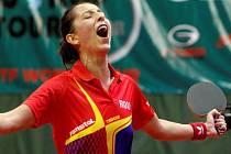 Elizabeta Samaraová (Rum.) vítězka Czech Open v Olomouci