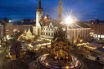 Vánoční trhy na olomouckém Horním náměstí