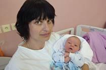 Jakub Lochman, Laškov, narozen 27. května v Olomouci, míra 53 cm, váha 4160 g.