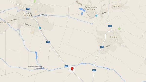 3) Prostějov, silnice ve směru do Kostelce na Hané