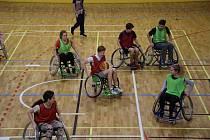 Paralympijský den na gymnáziu Čajkovského