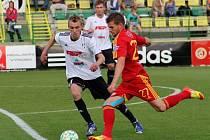 HFK Olomouc v poháru proti Dukle Praha