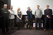 Promítání pilotního dílu seriálu Případy pro Jáchyma Semiše v Premiere Cinemas v Olomouci za účasti tvůrců