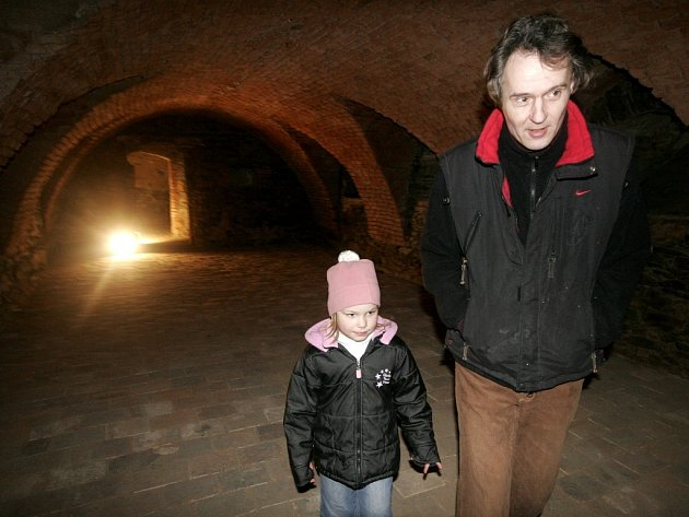 Prohlídka podzemí.