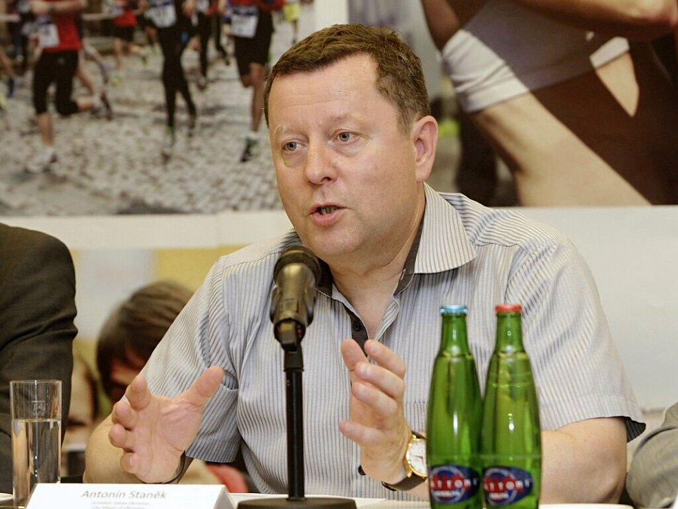 Antonín Staněk, primátor Olomouce. Představení před Olomouckým půlmaratonem 2016