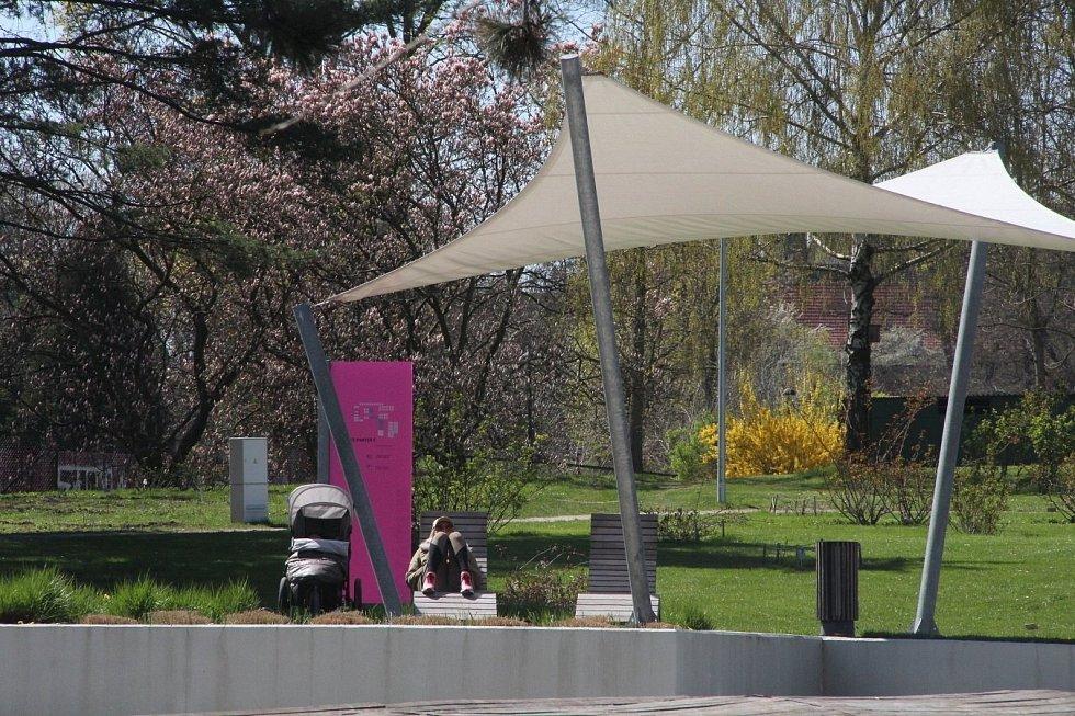 Olomoucké rozárium 27. dubna 2021