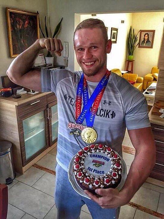 Jiří Tkadlčík, přerovský Strongman