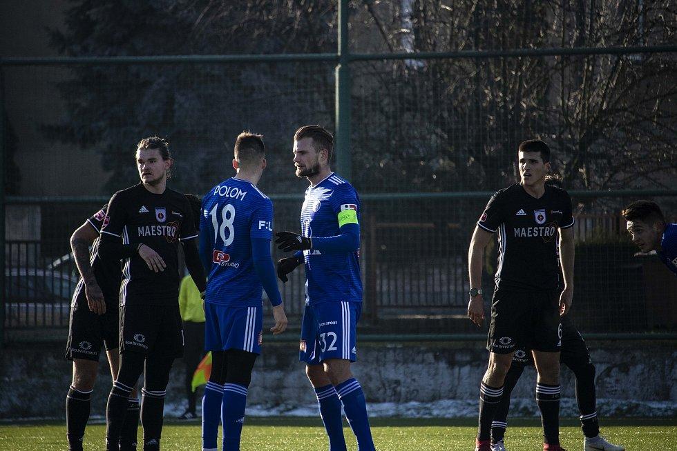Olomoucká Sigma doma remizovala v přípravném utkání doma s Ružomberkem 1:1.  Roman Polom, Vít Beneš