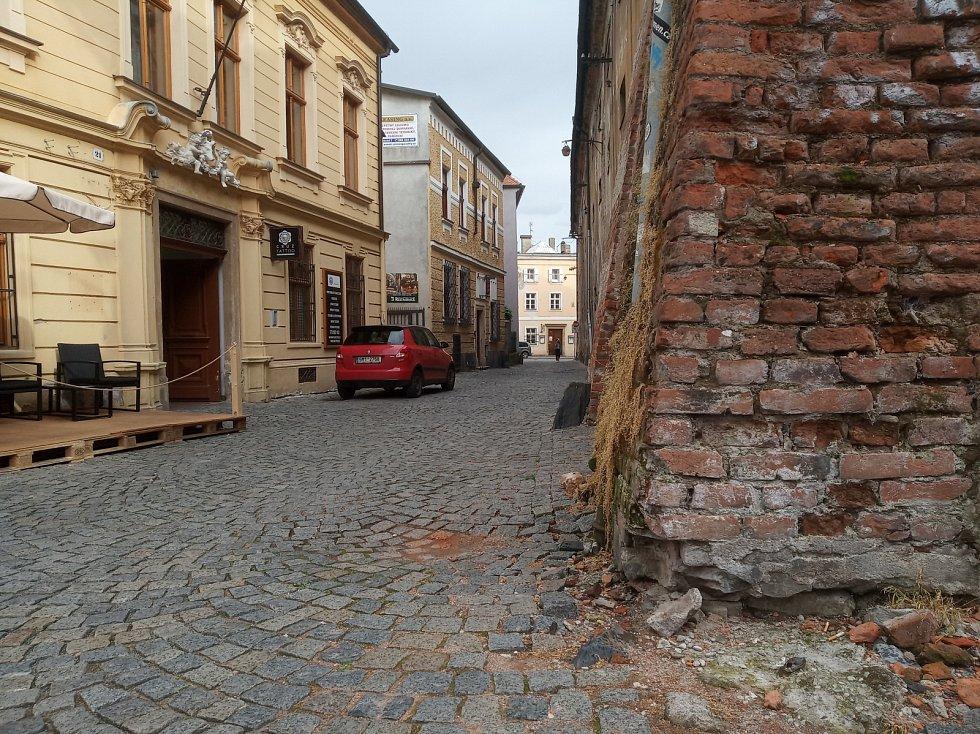 Filmová místa v Olomouci. Ulice Mlýnská a Uhelná