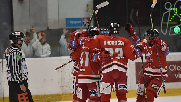 Hokejová extraliga HC Olomouc - Plzeň.