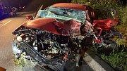 Tragická nehoda mezi Krčmaní a Kokorami. 7.6.2019